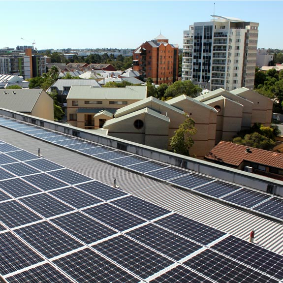 Commercial Solar System in Perth WA