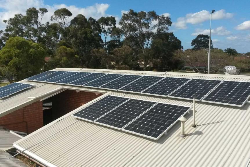 Rossmoyne Bowling-Club 22-kW commercial solar PV system