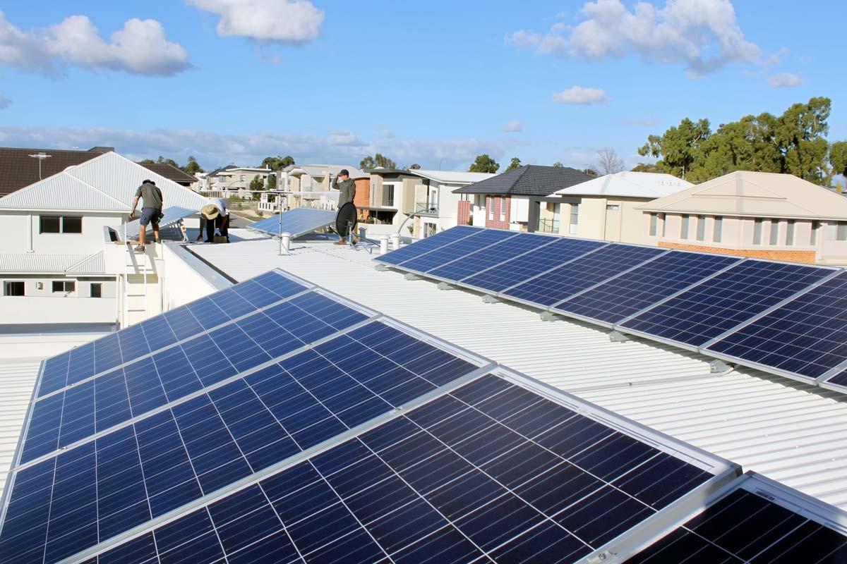 6.5 kW Solar Power System Churchlands WA