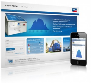 SMA Sunny Portal system monitoring