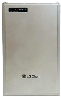 SMA: LG Chem RESU Battery