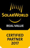 SolarWorld Certified Partner 2017